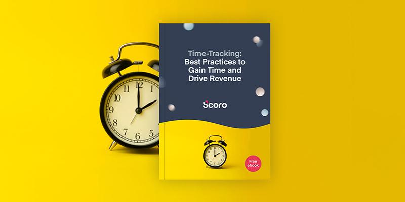 Scoro time tracking ebook