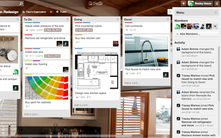 Productivity Tools Trello