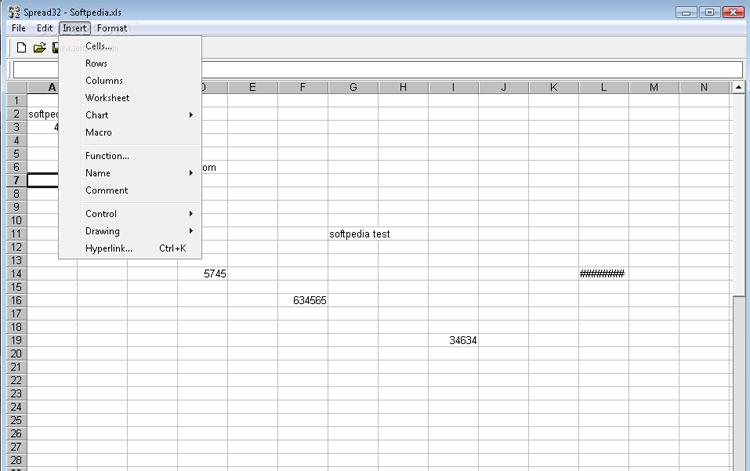 Excel Alternative SPREAD32