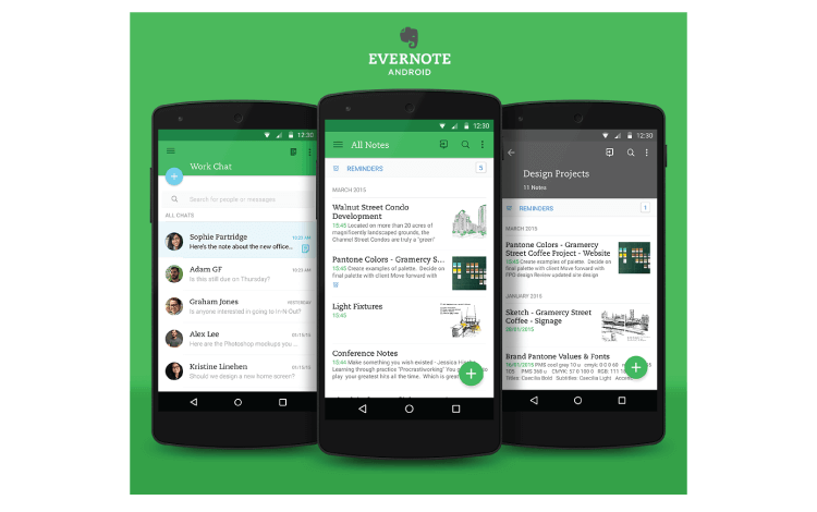 business tools Evernote