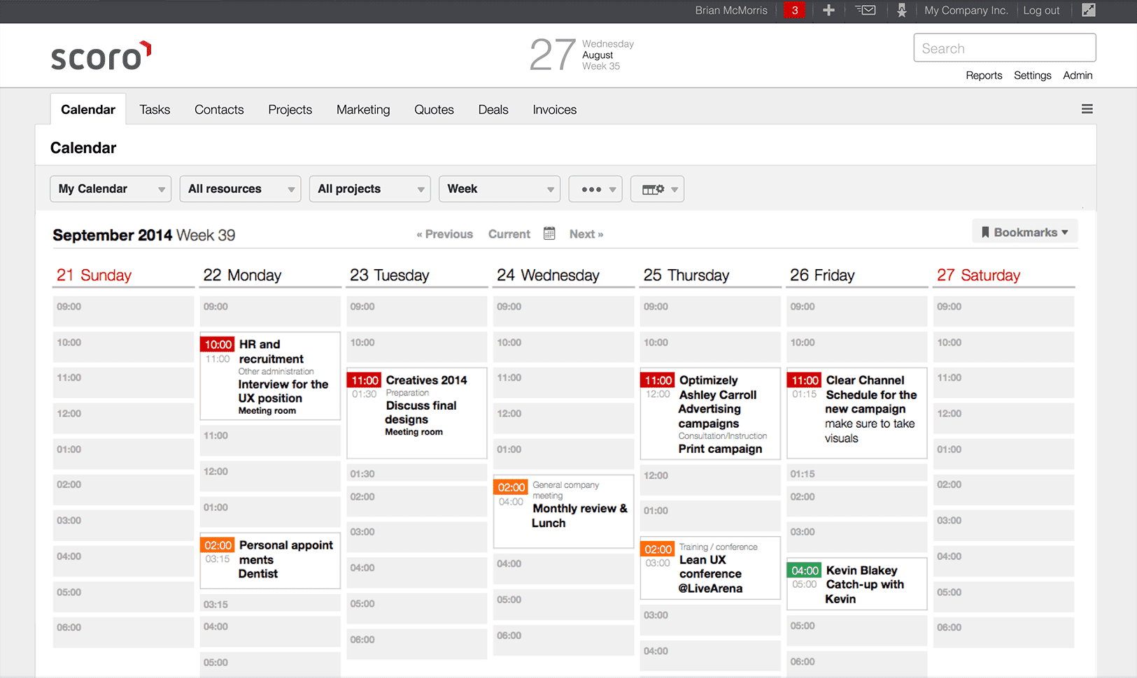 project scheduling software, work scheduling software