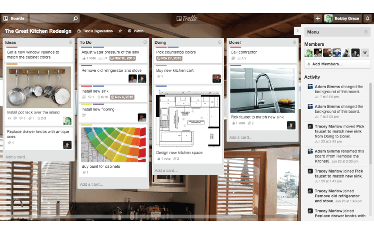 productivity tool Trello