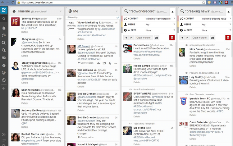 business tools Tweetdeck