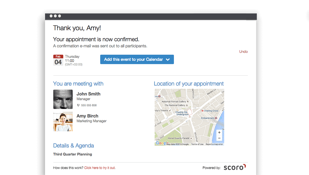 meeting scheduling software