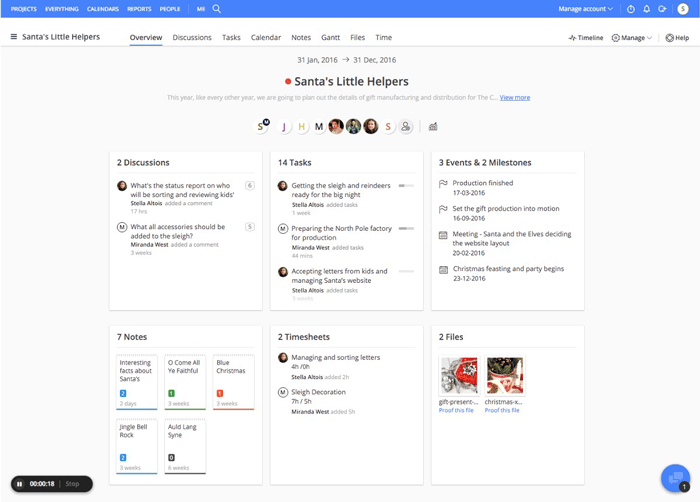Team collaboration tool