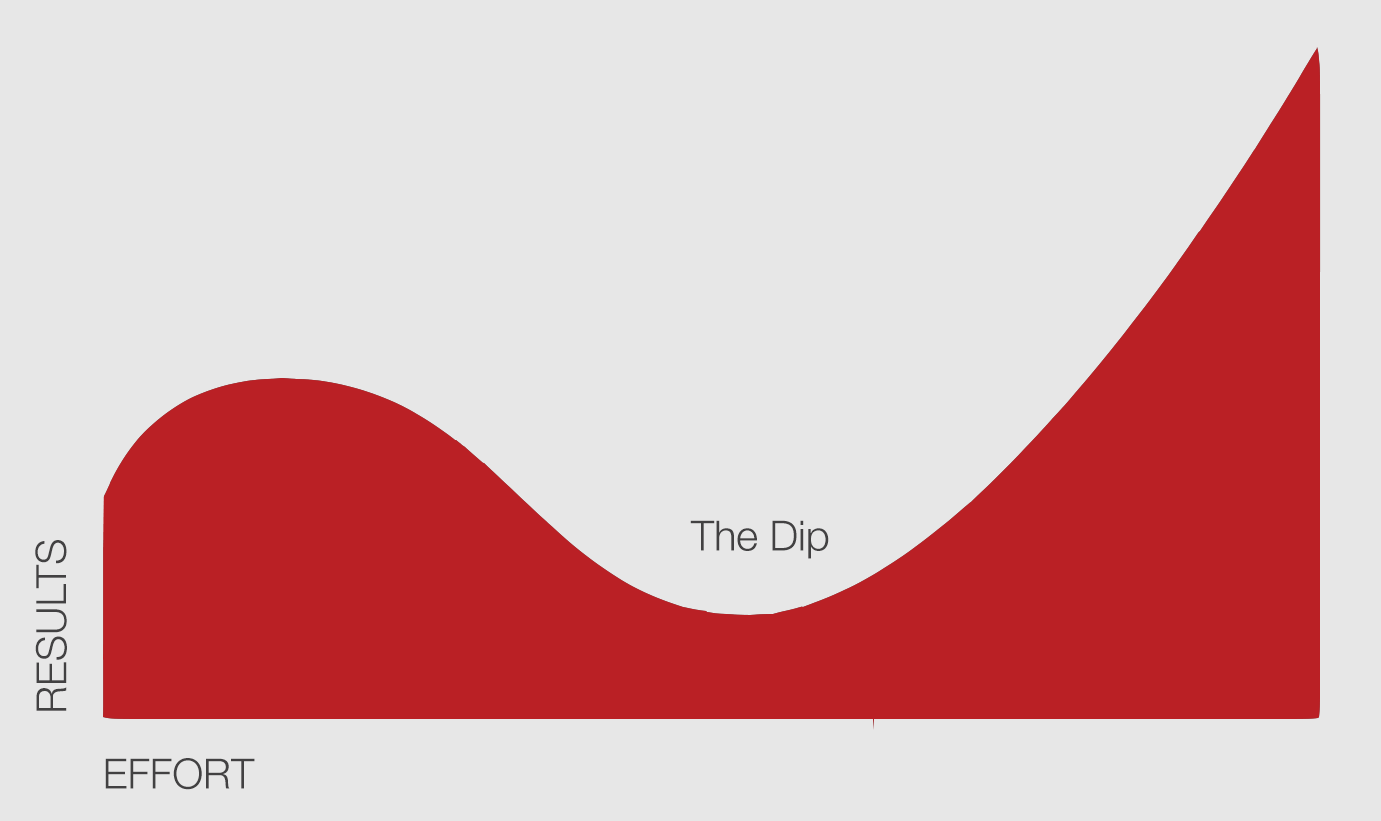 Seth Godin The Dip