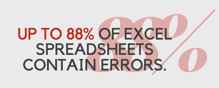 why MS Excel is bad