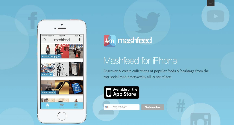 Mashfeed PR Tool