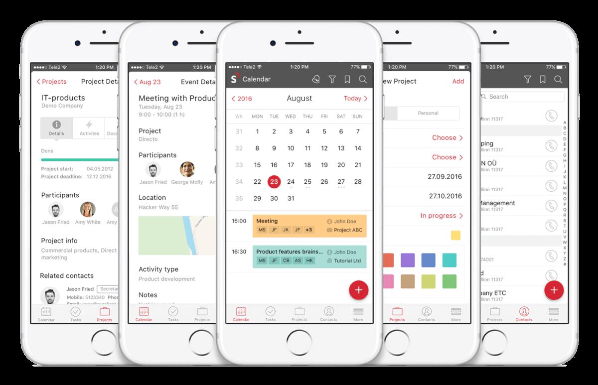 Scoro Mobile App