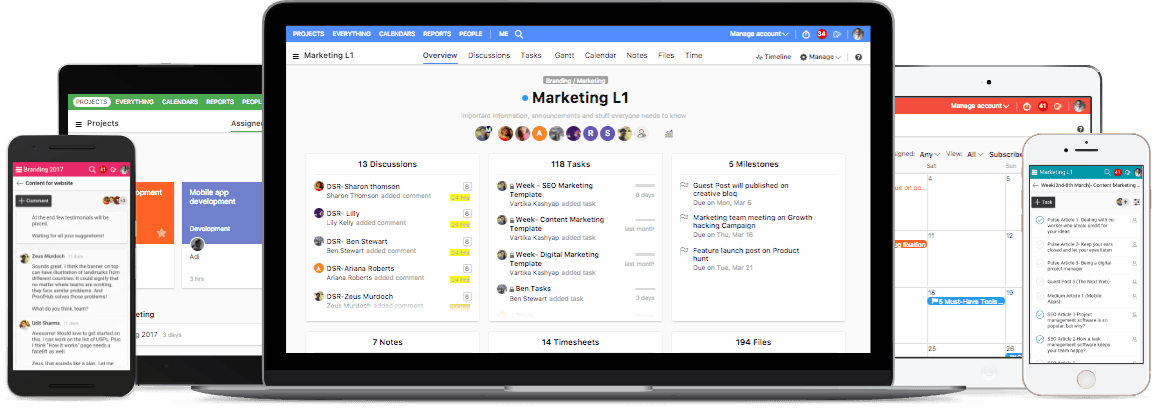 ProofHub product screenshot