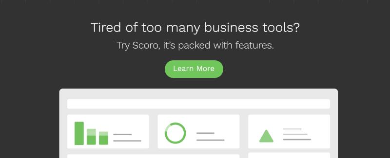 Business app Scoro