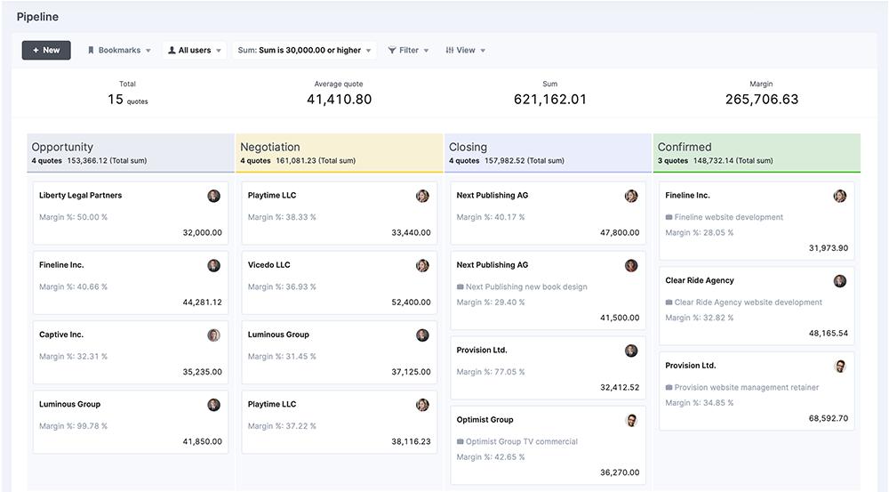 Scoro's-sales-pipeline-screenshot
