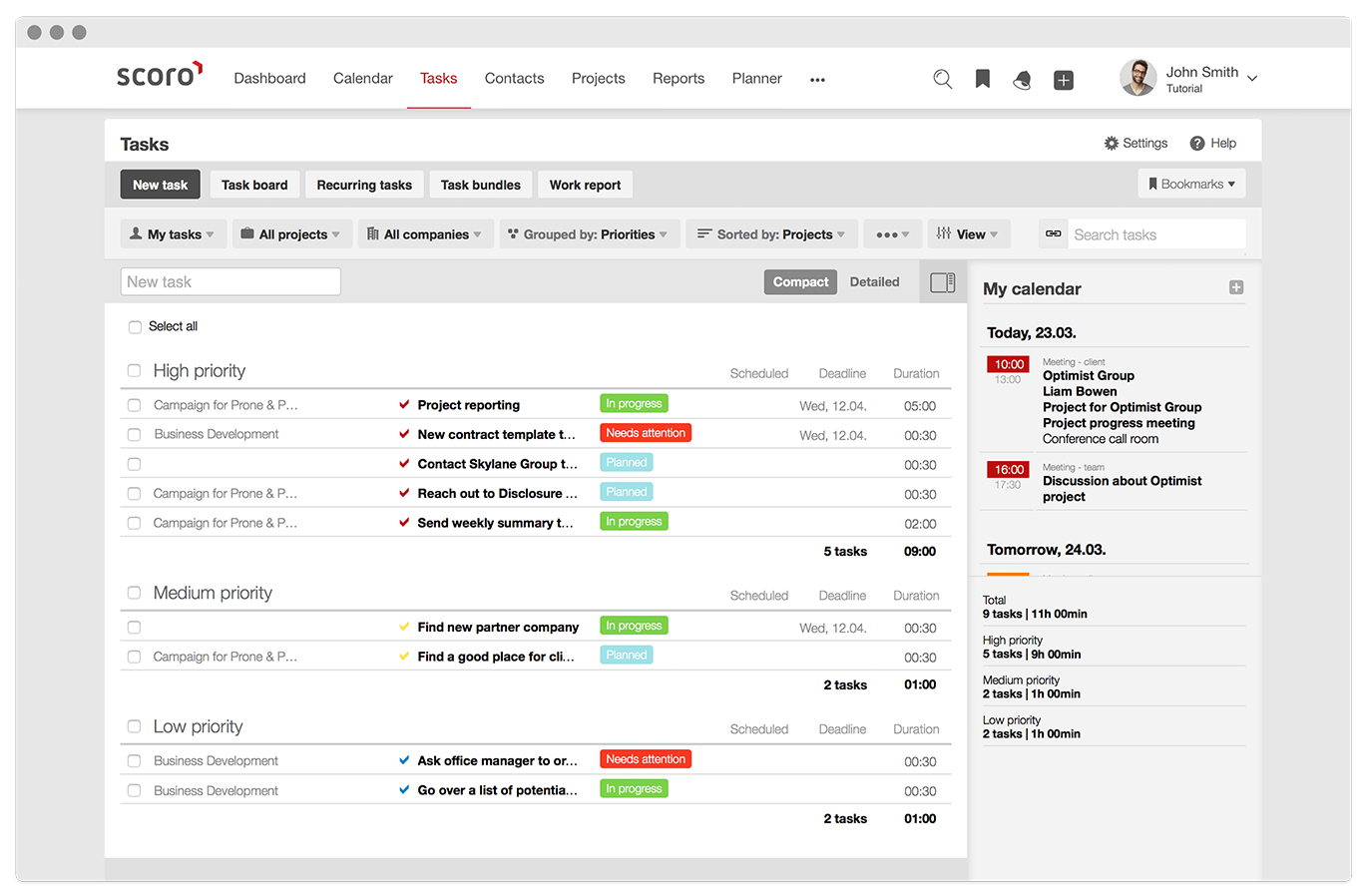 Creative project management software