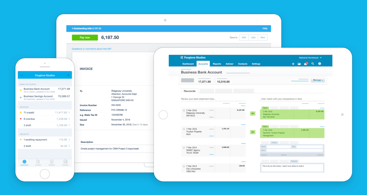 Xero Invoicing and Billing Software