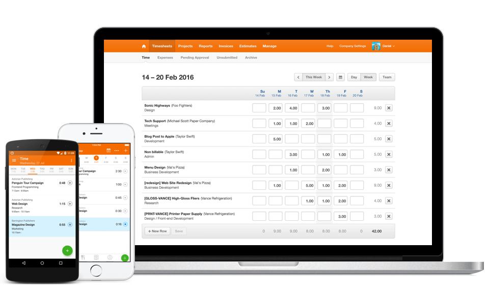 Harvest Invoicing and Billing Software