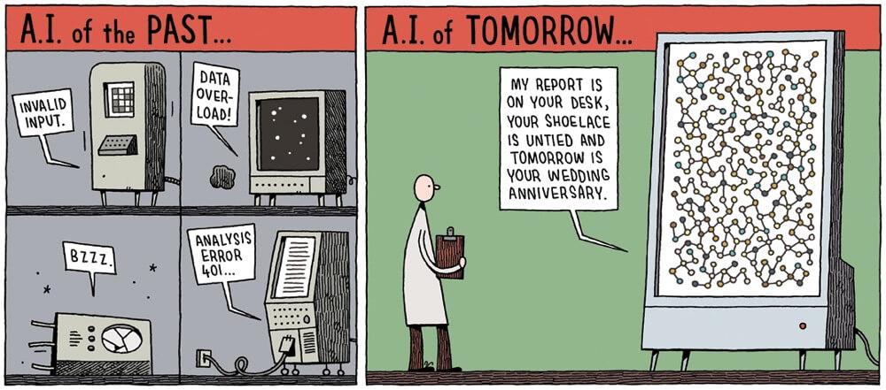 Funny AI Comic