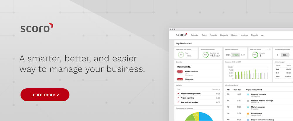 Scoro Business Management Software