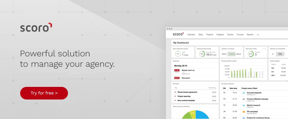 Agency Scoro