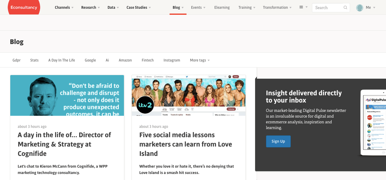 Must-Read Blogs For Creative Agencies – Econsultancy – Scoro