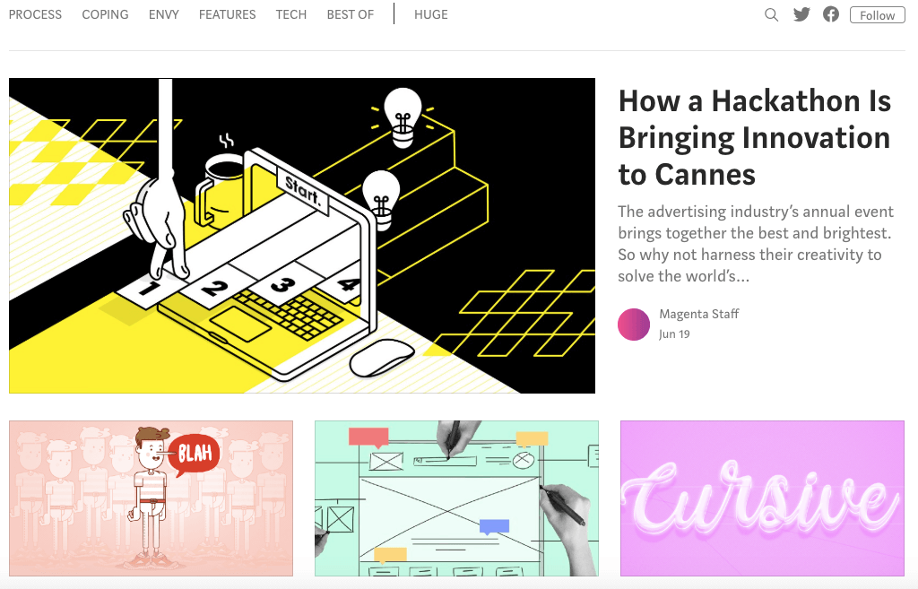 Must-Read Blogs For Creative Agencies – Magenta – Scoro