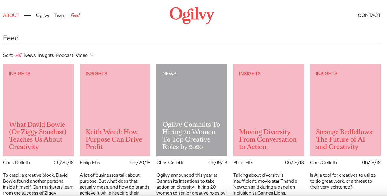 Must-Read Blogs For Creative Agencies – Ogilvy – Scoro