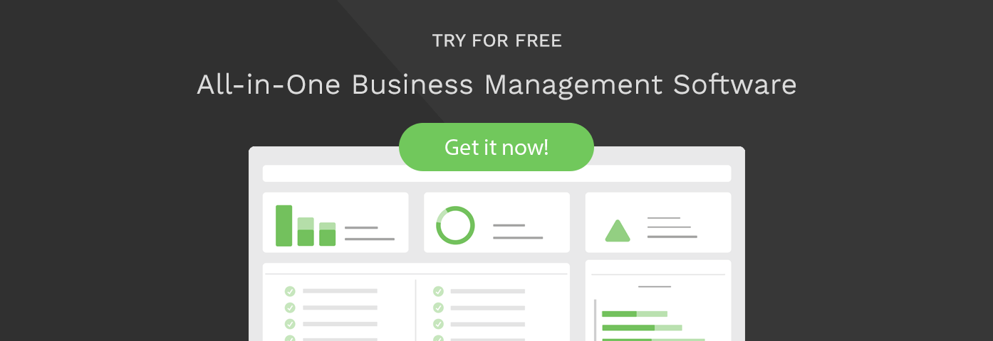 All in one business management software Scoro CTA