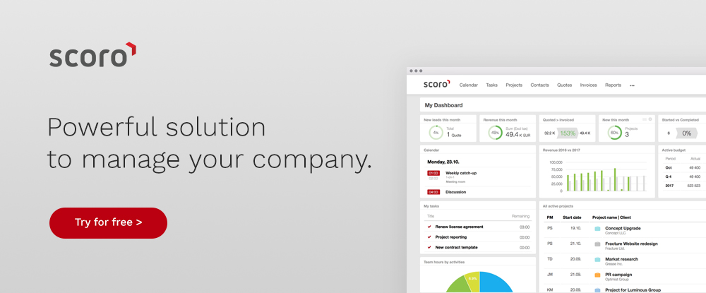 Powerful solution to manage your company