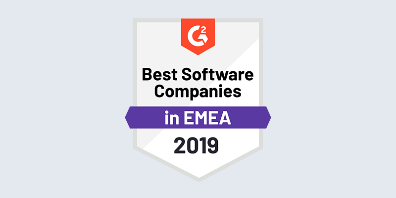 Scoro - Best Software Companies EMEA badge