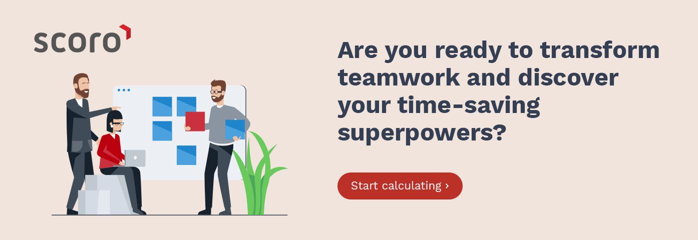 Calculate your team's productivity CTA