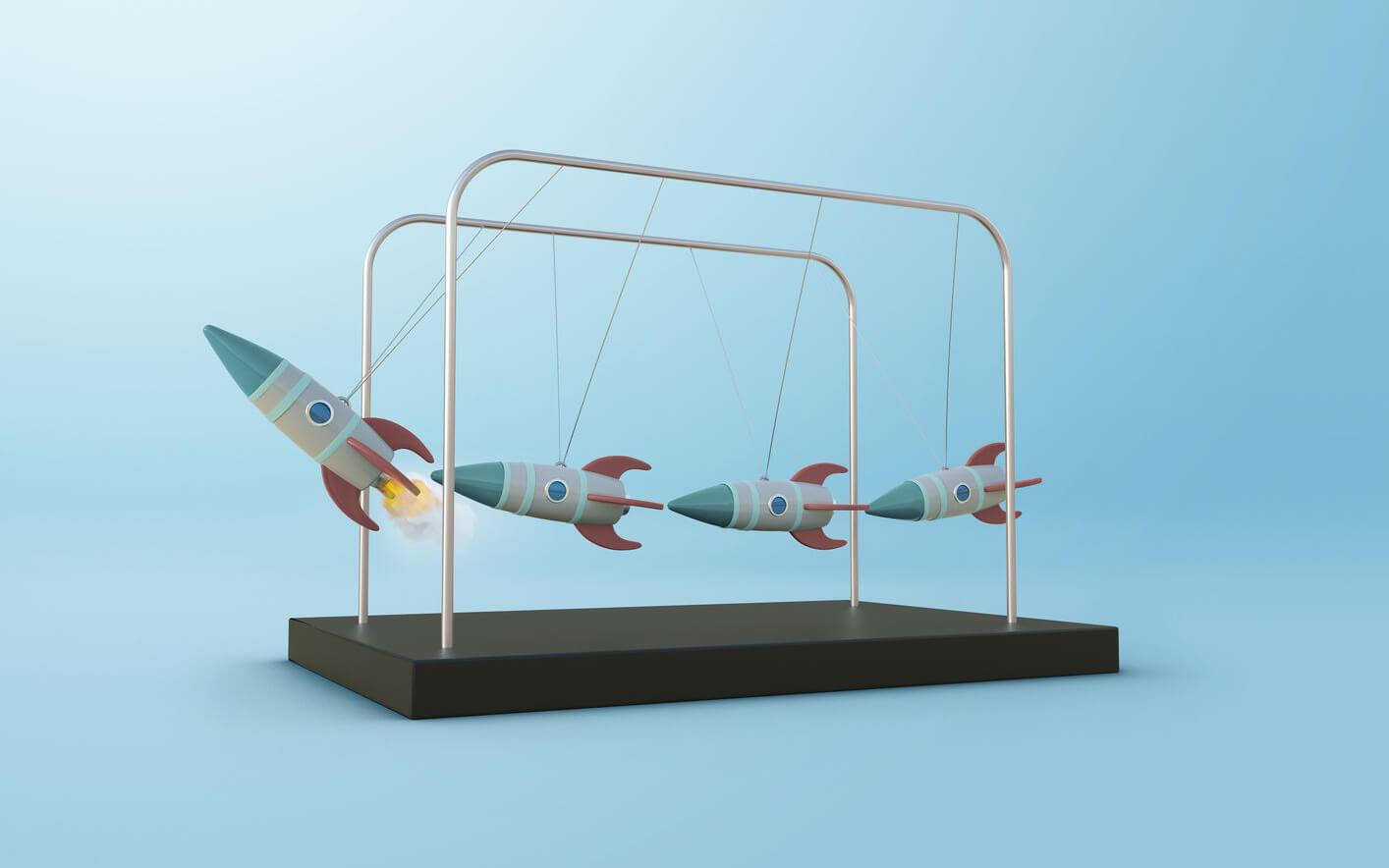 Operational efficiency rocketship