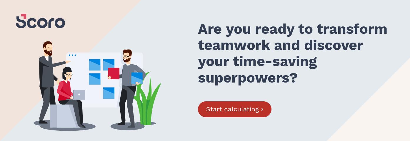 Productivity Calculator Scoro