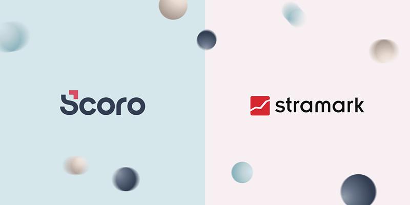 Scoro x Stramark logos