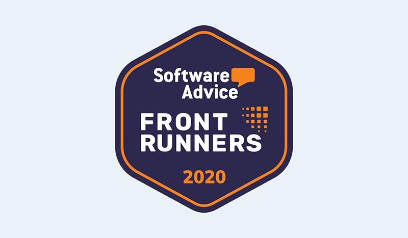 Scoro PSA FrontRunners badge