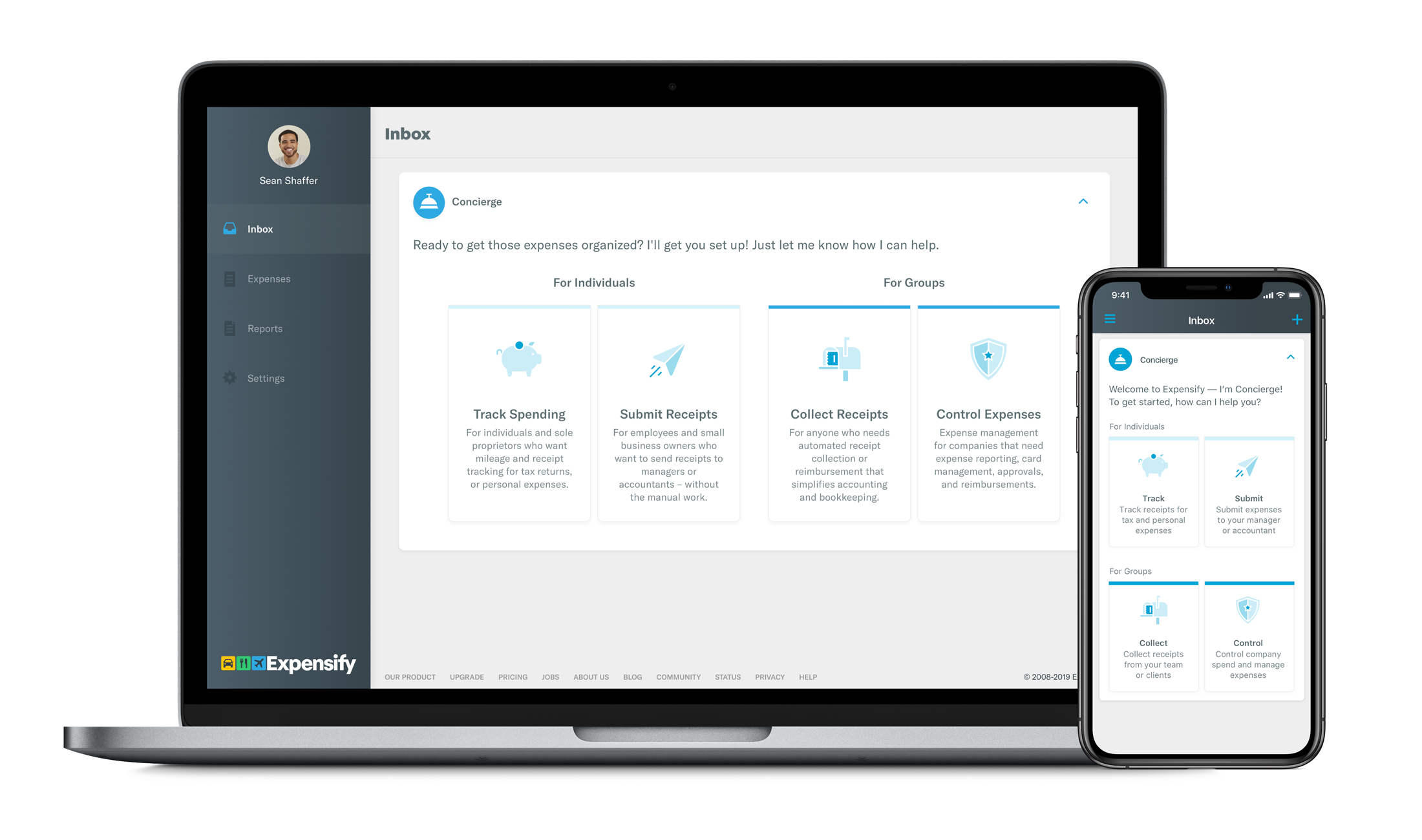expensify-product-screenshot