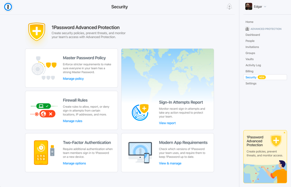1Password product screenshot