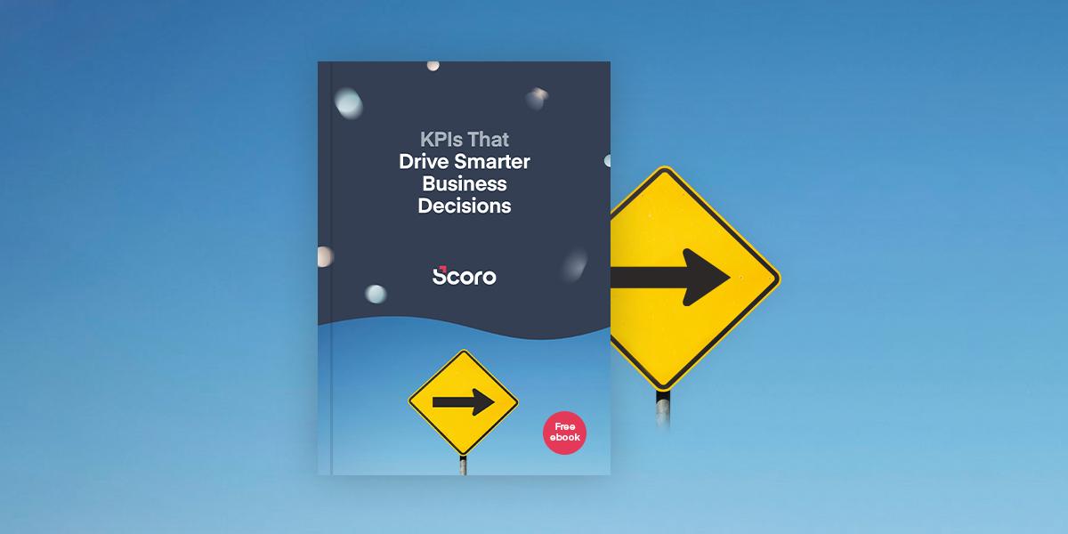 Scoro KPI ebook cover