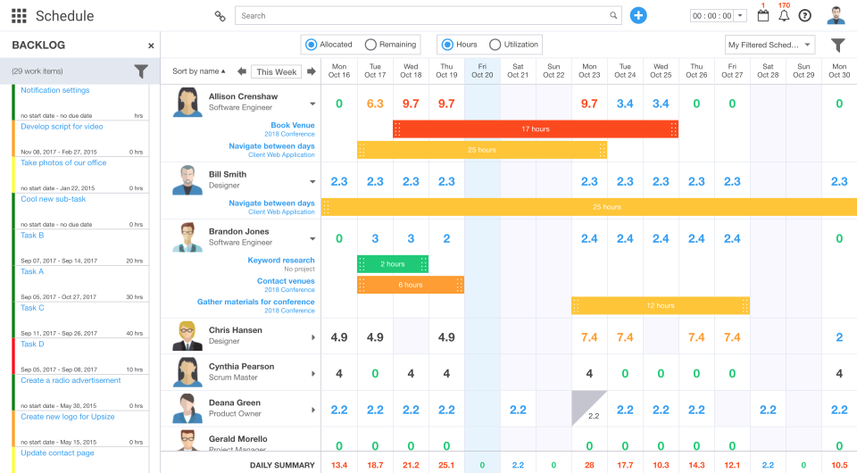 Ravetree product screenshot