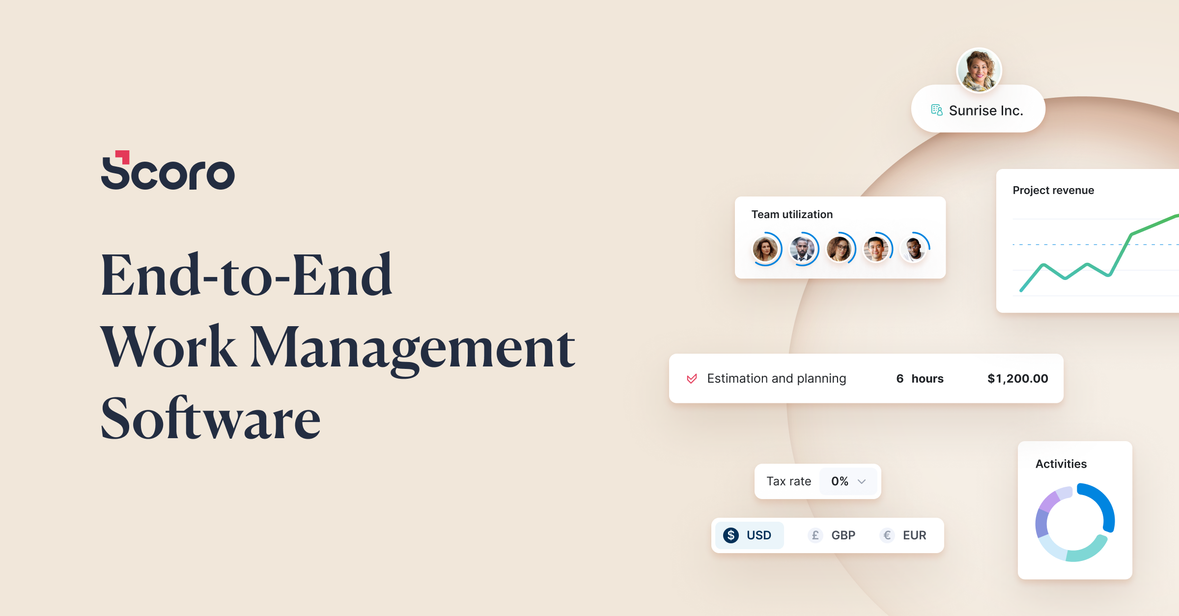 End-to-End Work Management Software | Scoro