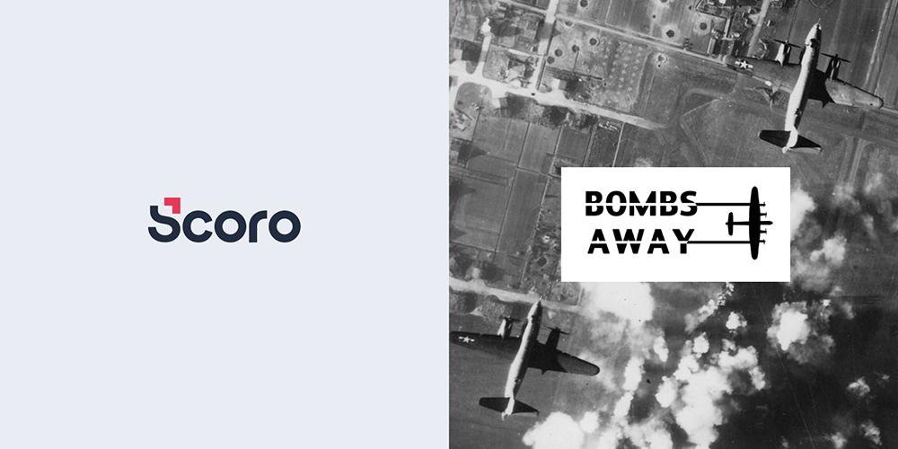 Scoro & BombsAway logos