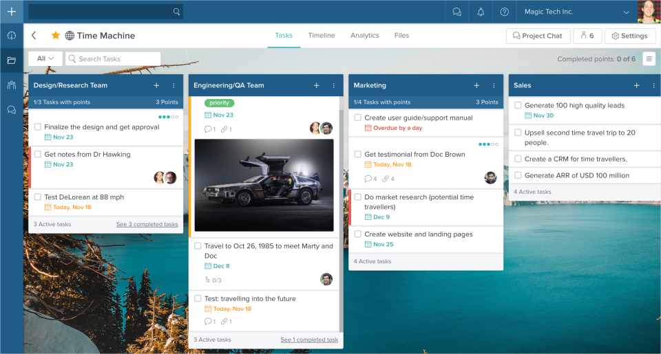 Taskworld product screenshot