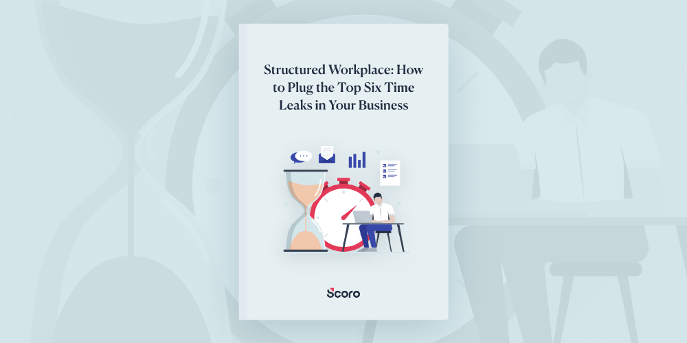 Scoro's Structured Workplace ebook feature image
