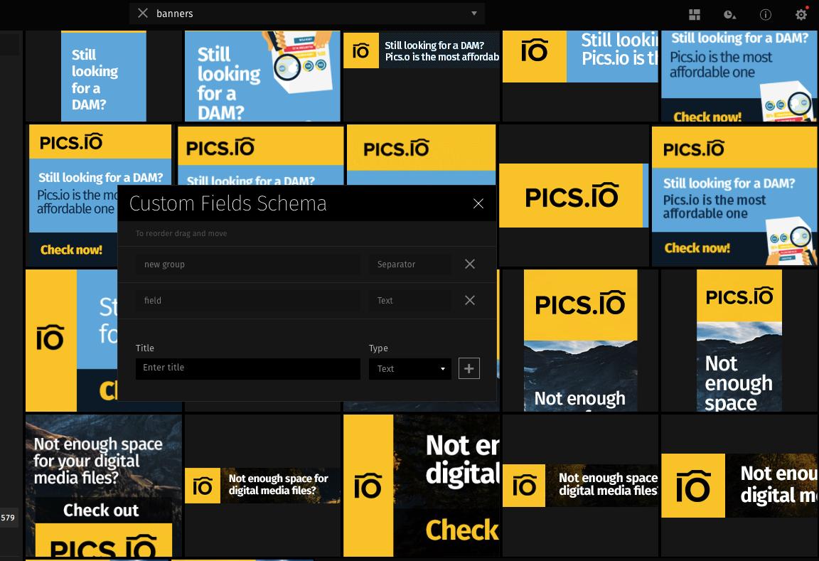 Pics.io product screenshot