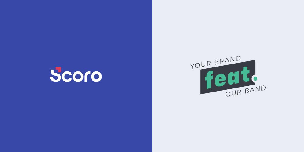Scoro and feat. agency logos