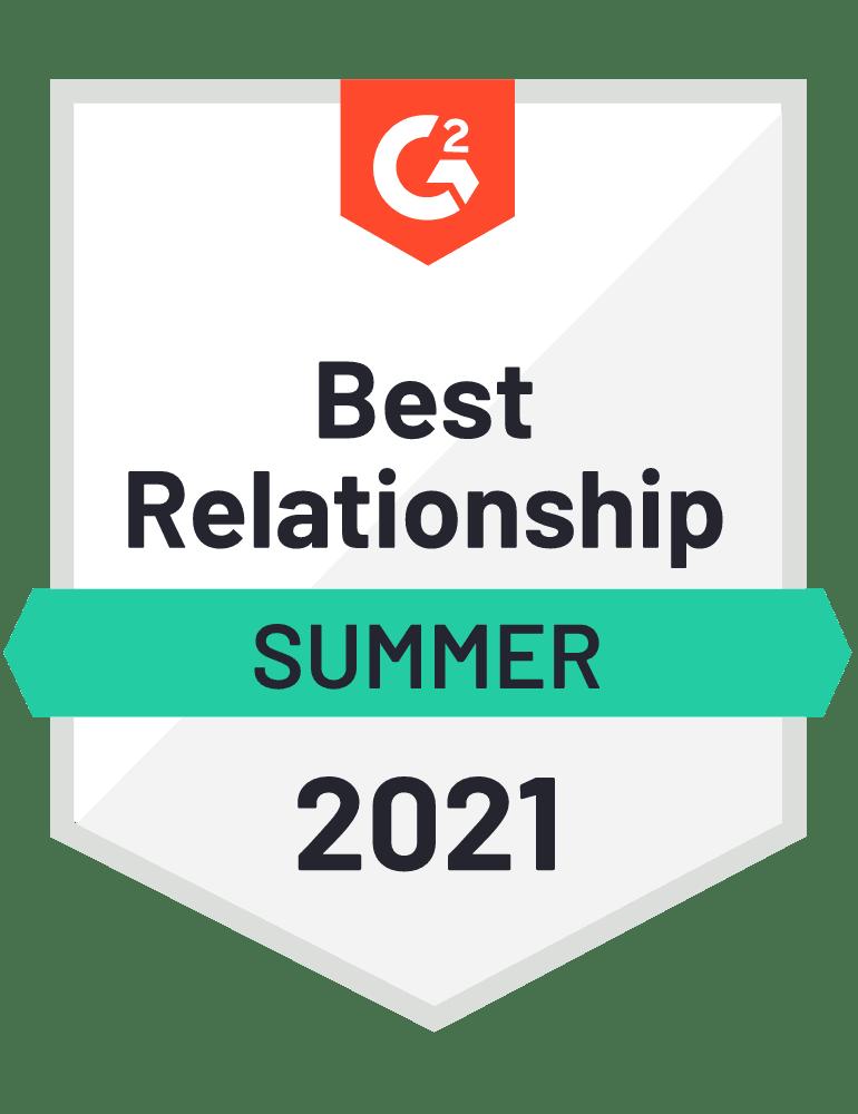 Scoro Best Relationship G2