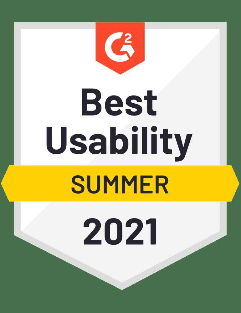 Scoro Best Usability G2